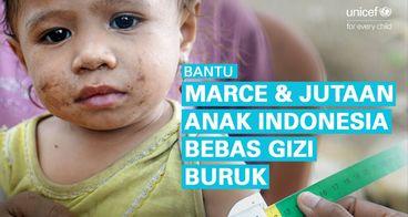 Bantu Perbaikan Gizi Jutaan Anak Indonesia