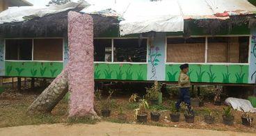 Bantu MI Muhammadiyah Klopogodo untuk ruang kelas