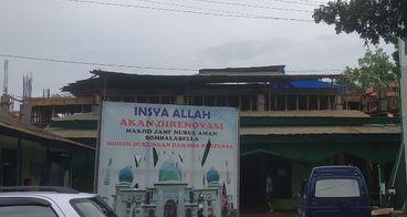 Pembangunan Masjid Jami' Nurul Aman, Takalar