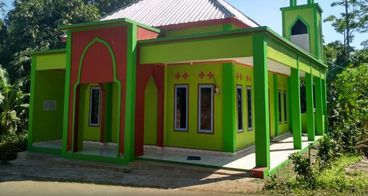 Bantu Kelengkapan Masjid di Desa Pedalaman