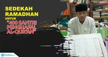 Sedekah Ramadhan 1440H untuk penghafal Quran