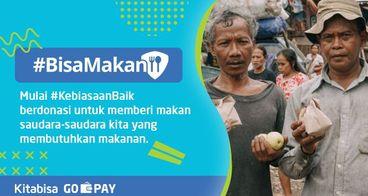 #BisaMakan - Donasi Untuk Berbagi Makanan