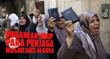 Sembako untuk Penjaga Masjid Al-Aqsa