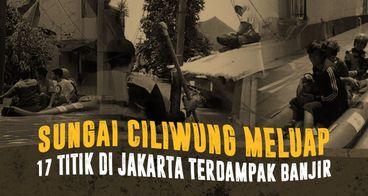 Darurat! Banjir Kembali Rendam Jakarta