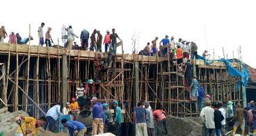 Pembangunan Masjid Taqwa Desa Pandan Agung