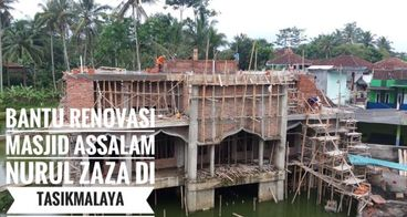 Renovasi Masjid Assalam Nurul Zaza Tasikmalaya