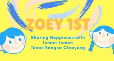 1 Tahun Zoeya untuk Anak Tunas Bangsa Cipayung
