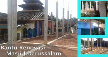Bantu Renovasi Masjid Darussalam