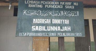 Bantu Bangun Madrasah Diniyah Sabilunajah