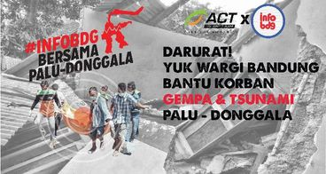 Bantu Korban Gempa dan Tsunami Palu-Donggala