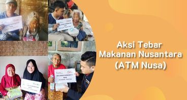 Aksi Tebar Makanan Nusantara