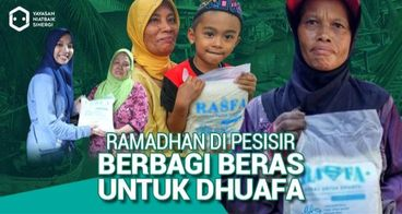 Berbagi Berkah Ramadhan bersama Rasfa di Pesisir