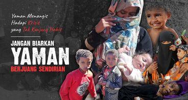 Donasi Kepedulian untuk Krisis Kemanusiaan Yaman