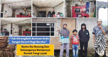 (Sedih) Bantu Nunung & Keluarga Punya Rumah Layak