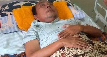 Bantu Herry Sinaga melawan TBC tulang belakang