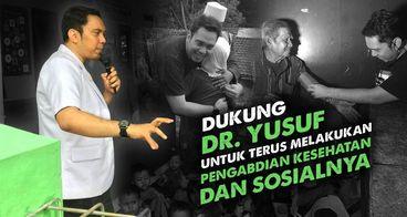 Bersama dr. Yusuf Bantu Masyarakat Dhuafa