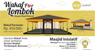 Wakaf For Lombok