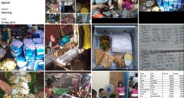 Sepuluh Ribu Porsi Makanan di Gerakan #3Lauk10ribu