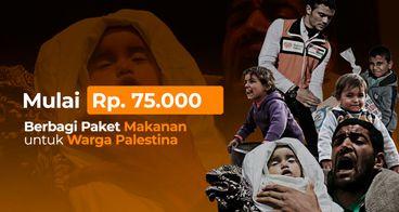 Bantuan Makanan Darurat Bagi Warga Palestina