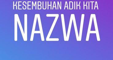 Bantu Nazwa Nur Azizah melawan sakit