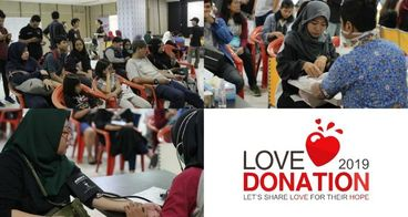 Love Donation 2019 Let's Share LOVE for their HOPE