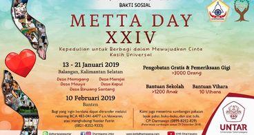 Bakti Sosial Metta Day XXIV