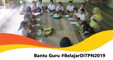 Bantu Guru Belajar di Temu Pendidik Nusantara 2019