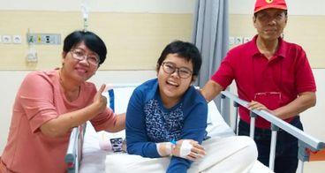 Bantu Tessa Anak Berprestasi Melawan Leukimia