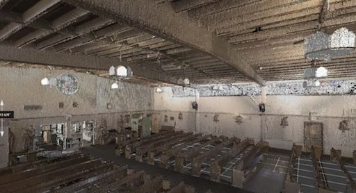 Church Pointcloud Example