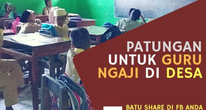 Patungan Untuk Guru Ngaji di Desa