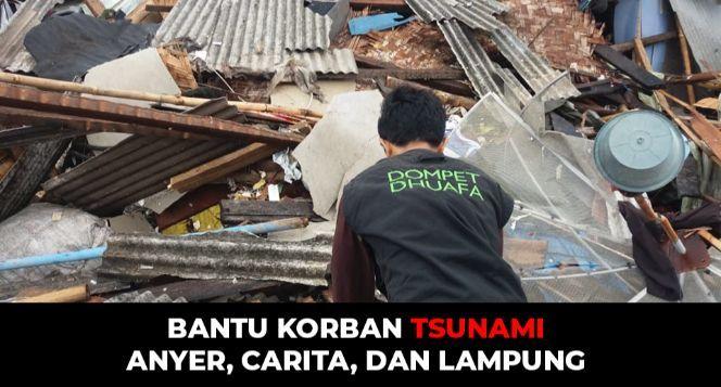 Darurat! Korban Tsunami Anyer dan Carita Butuh Ulu
