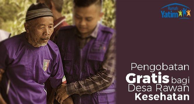 Bantu 20 Desa Rawan Kesehatan di Indonesia