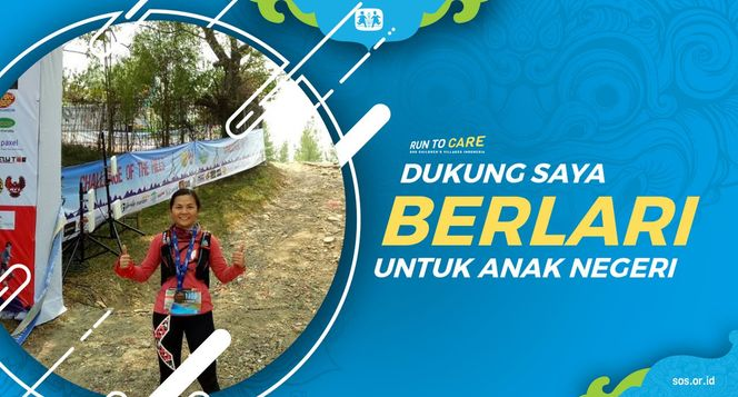 Desi berlari 150KM untuk Mimpi Anak Indonesia