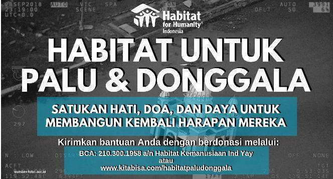 HABITAT UNTUK PALU & DONGGALA