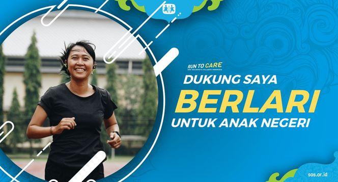 Tika berlari 150KM untuk Mimpi Anak Indonesia