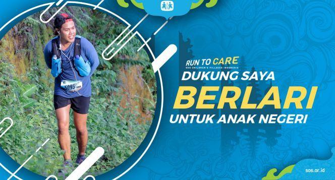 Deny S berlari 150KM untuk Mimpi Anak Indonesia