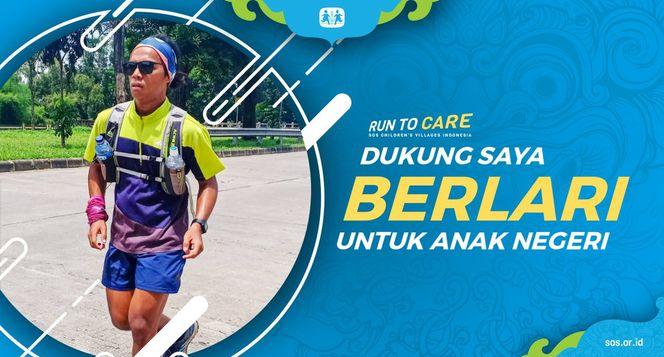 Mofik berlari 150KM untuk Mimpi Anak Indonesia