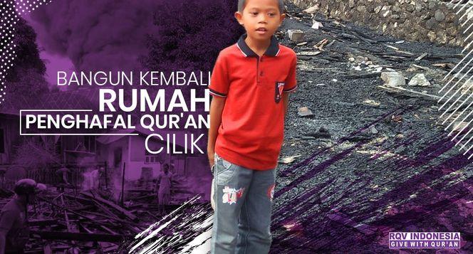 Bantuan Untuk Rumah Penghafal Quran Yang Kebakaran