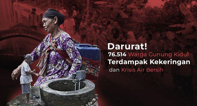 Bantu Alirkan Air Bersih untuk Warga Yogyakarta