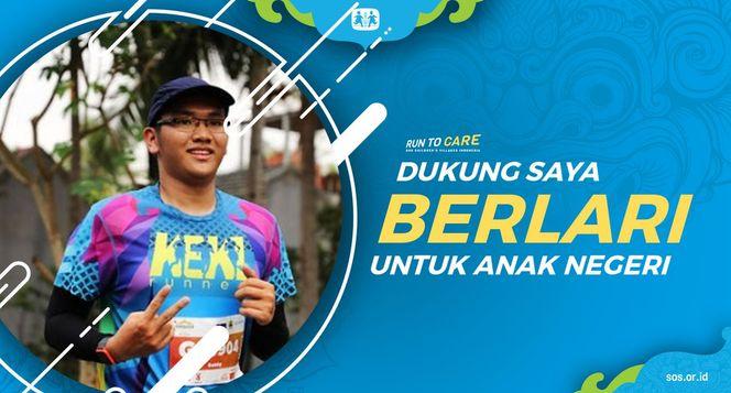 Bobby berlari 150KM untuk Mimpi Anak Indonesia