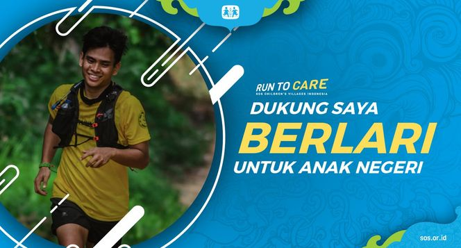 Yohanis berlari 150KM untuk Mimpi Anak Indonesia