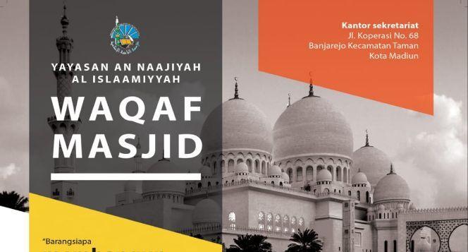 Ayo Waqafkan Hartamu untuk Masjid