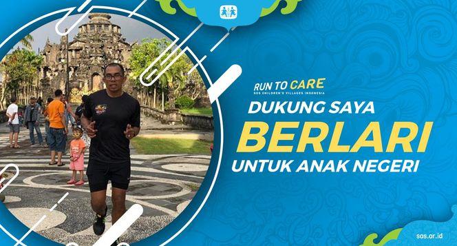 Ojie berlari 150KM untuk Mimpi Anak Indonesia
