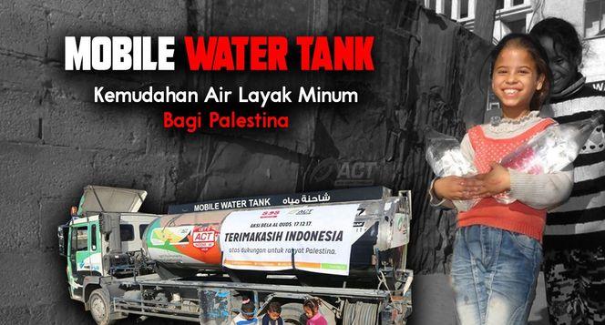 Air Layak Minum Temani Jutaan Warga Palestina