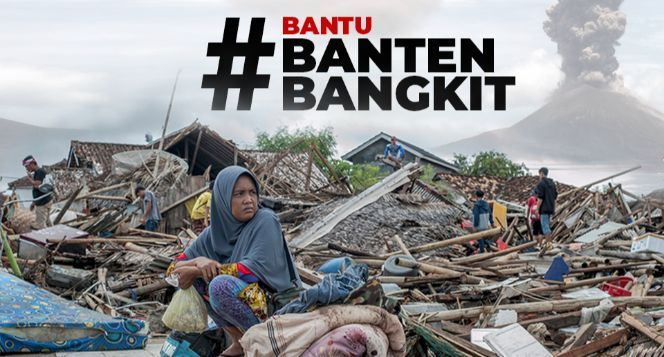 Darurat! Bantu Korban Tsunami Anyer dan Carita