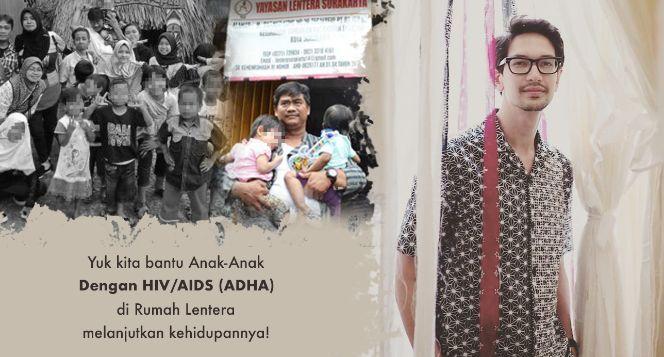 Bersama Dimas Beck Bantu Anak Dengan HIV/AIDS