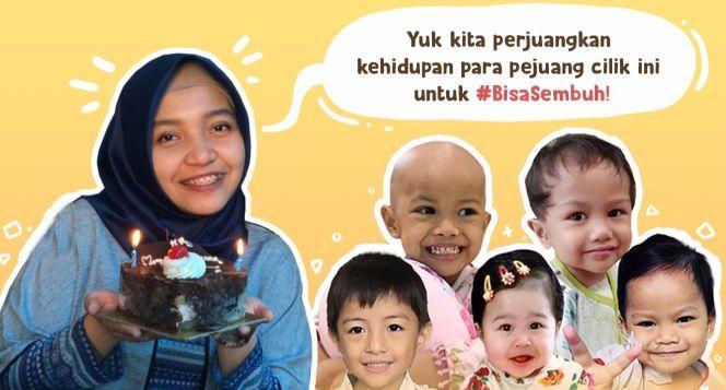 Dukung Intan Bantu Anak-Anak #BisaSembuh