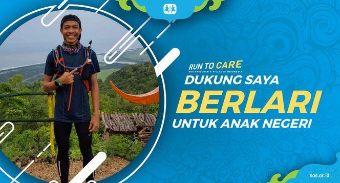 Dimas berlari 150KM untuk Mimpi Anak Indonesia