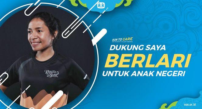 Astrid berlari 150KM untuk Mimpi Anak Indonesia