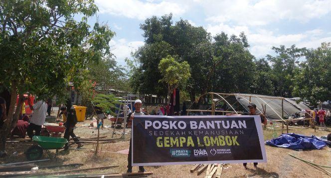 Dengan Sedekah, Kita Hapus Kesedihan Korban Lombok